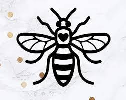 Manchester Bee Car Van Window Sticker Decal Vinyl Mosiac Red Fx Archives Midweek Com