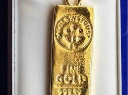 we trust 24ct gold plate gold bar fine