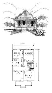 bungalow style house plan 72772 with 2