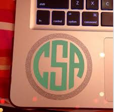 Pin By Bethany Beals On Monagramming Is My Passion Blb Monogram Decal Glitter Monogrammed Monogram Initials