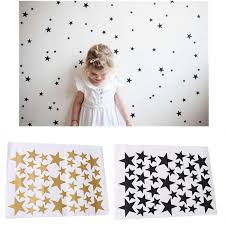 39 Star Gold Silver Black White Stars Pattern Pvc Diy Wall Art Decals For Kids Room Decoration Wall Stickers Home Decor Ic893920 Kids Wall Stickers For Bedrooms Kids Wall Stickers Removable From