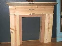 building a fireplace mantel orthovida co