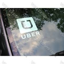 Sale Removable Uber Decal Sign Static Cling Stickers Online 10 Off