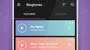 notification tones and ringtones