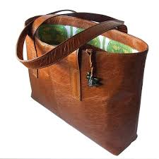leather tote bag by use uk 135 tan