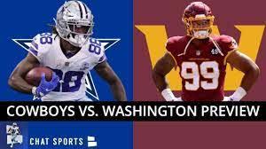 Cowboys vs Washington Live stream ...