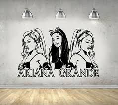 Ariana Grande Girls Room Wall Art Sticker Decal Ebay