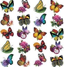 Amazon Com 20 Pieces Large Size Butterfly Window Clings Anti Collision Flowers Window Clings Decals To Prevent Bird Strikes On Window Glass Non Adhesive Vinyl Cling Butterfly Stickers Cling Decor Kitchen Dining