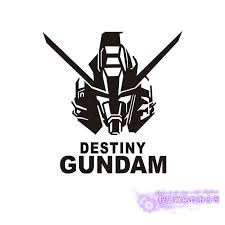 Pegatina Gundam Sticker Anime Cartoon Car Decal Sticker Destiny Vinyl Wall Stickers Decor Home Decoration Wall Stickers Aliexpress
