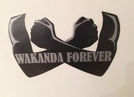Marvel Black Panther Wakanda Forever Decal Car Decal Kids Room Home Wall Sticker 7 99 Picclick