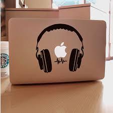 Dj Headphone Vinyl Decal Laptop Skin Sticker For Macbook Air Pro Retina 11 13 15 Wish