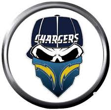 Face Bolt LA Chargers NFL Football Logo ...