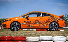 Amazon Com Orange Tribal Tattoo Full Color Car Vinyl Decal Tribal Razor Full Color Car Graphics Sharp Tribal Car Color Decal Sharp Metal Color Decal Car Design Zzx 10 26x90 Baby