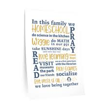 Homeschool Family Wall Decal Indiana Association Of Home Educators