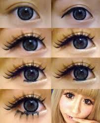 gyaru makeup tutorial gyaru eye