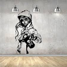 Wall Sticker Mural Decal Vinyl Decor Candy Sugar Skull Graffiti Girl Cartoon Living Art Decor Wall Decals Wall Sticker Peelable Wall Stickers Personalised Wall Stickers From Joystickers 11 31 Dhgate Com