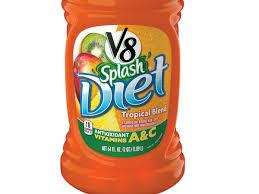 v8 splash t tropical blend nutrition