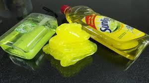 hand soap and sugar slime no glue