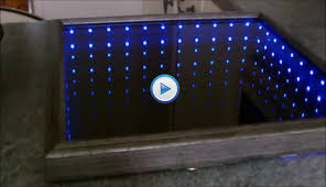 how to make 3d led infinity mirror