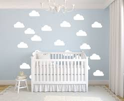 Pcs Hanging Stars Wall Stickers For Kids Room White Star Baby Independence