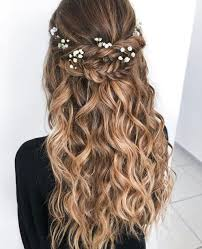 39 Elegant Bridal Hairstyles Ideas For Long Hair Rozpuszczone