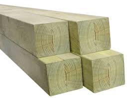 100 X 100 X 2400mm H4 Treated Pine Post Timber Building Supplies Online