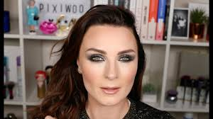 holiday party full face makeup tutorial
