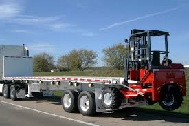 load securing vehicle operator