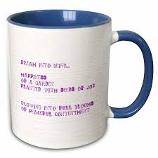 drose happiness poem poetry inspirational quotes coffee mug wayfair