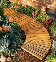 4 l roll out curved cedar pathway