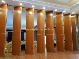 movable partition wall acoustic