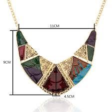 new big gypsy collar choker necklace