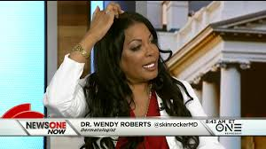 Dr. Wendy Roberts joined Roland Martin to discuss Vitalize Hair ...