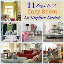 11 steps to a cozy room no fireplace