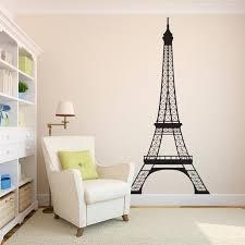 Eiffel Tower Decal Paris Wall Decor Parisian Wall Art Etsy