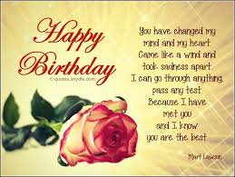 quotes about boyfriend birthday quotes