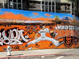 Sf Giants Mural Take To The Streets Sf Giants Sf Giants Baby Sf Giants Baseball