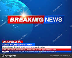 Breaking News Live World Map Background ...