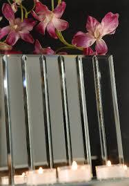 dazzle 11 inch mirror vase rectangular