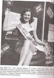 dorothy-johnson-miss-mobil-tire-1954 | Garden Home History Project