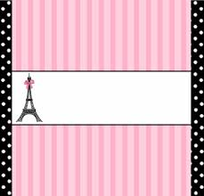 Paris Free Printable Candy Bar Labels Con Imagenes Fiestas