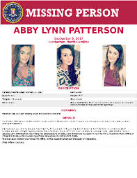 ABBY LYNN PATTERSON — FBI