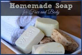 natural homemade soap recipe for hand