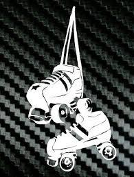 Hanging Up Your Roller Skates Derby Vinyl Decal Sticker Car Truck Laptop Girl Ebay