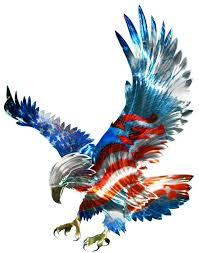 New Large American Flag Bald Eagle Metal Wall Art Patriotic Decor Decorations American Flag Metal Wall Art Eagle Metal Wall Art Eagle Pictures