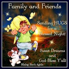 Good Night Friends God Bless You ♥ - Rising Back Again | Facebook