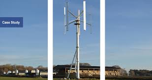 vertical axis wind turbine project
