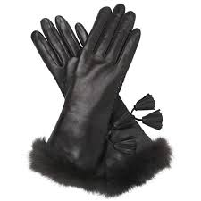 vita pashmina lined leather gloves w