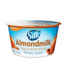 peach almond dairy free yogurt