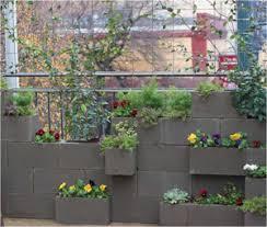 Cinder Block Planter Wall Diy Diyideacenter Com